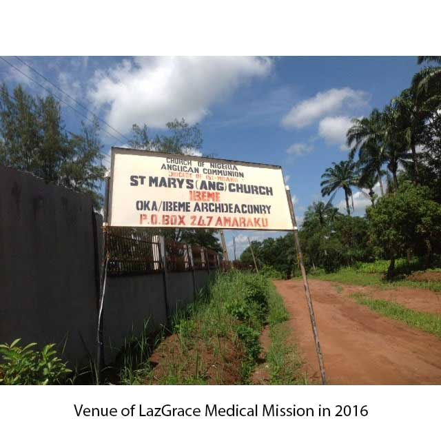 LazGrace Medical Mission 2016